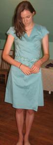 Dress by Georgia Kirkpatrick, founder of Silvania