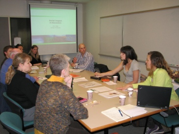 Members of the 2011 Social Innovation Incubator Circuit Program.