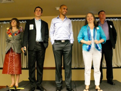 The members of the 2012 Social Innovation Incubator Circuit Program