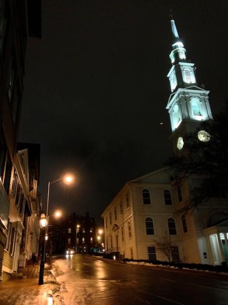 Downtown Providence, near Brown University